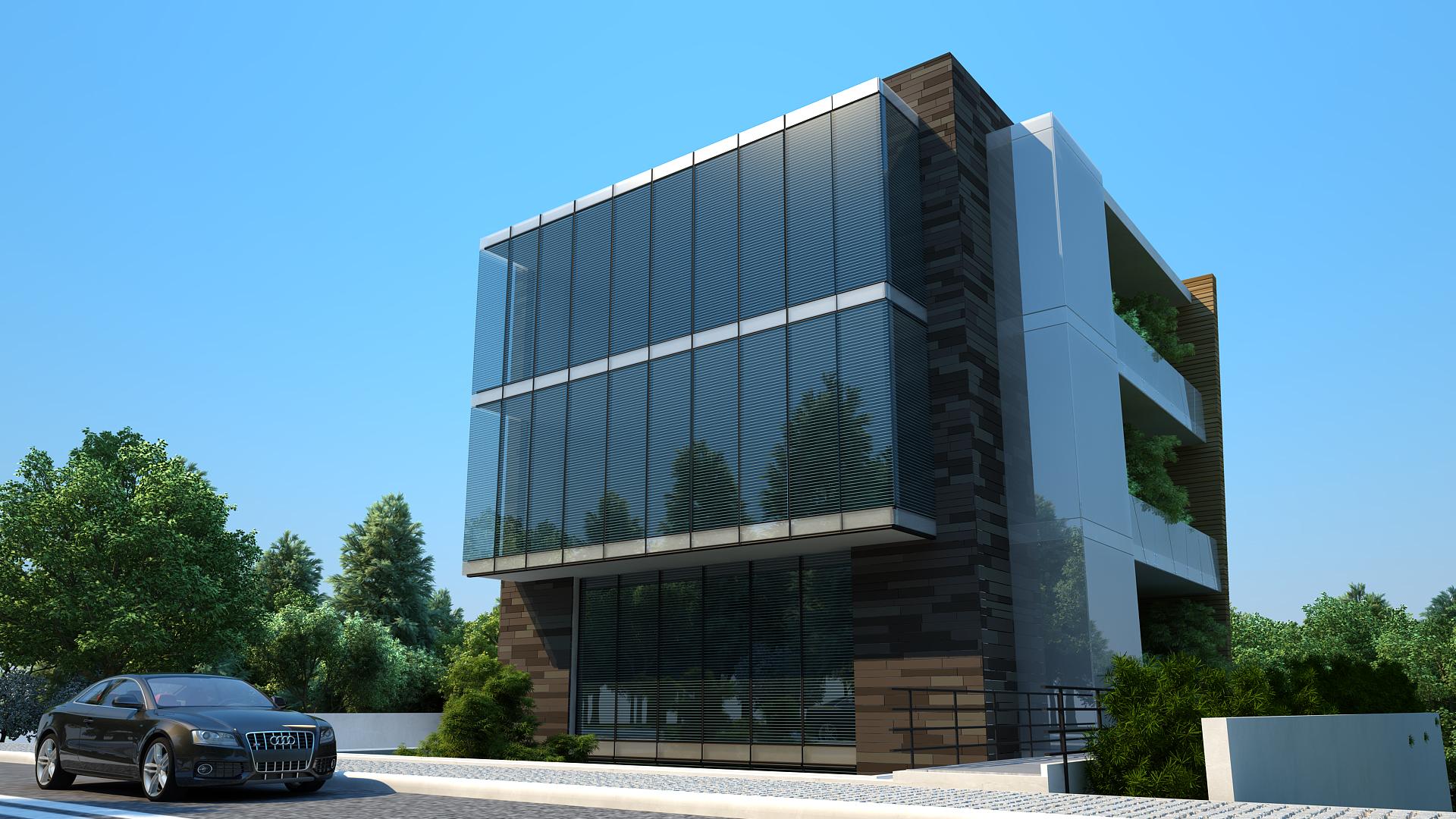 Строительство делового бизнес центра